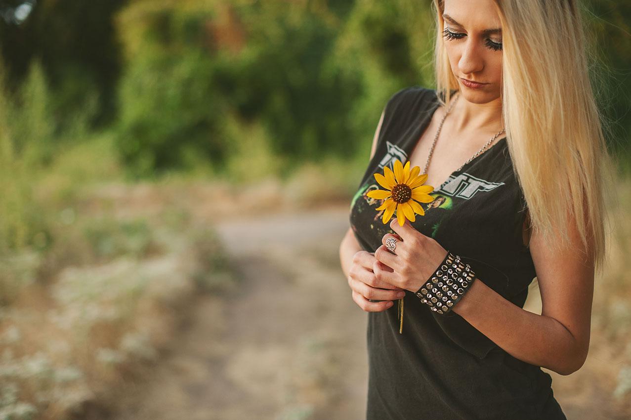 sized sunflower